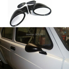 Rally vintage style mirror F-1 californian two pcs( R+L)