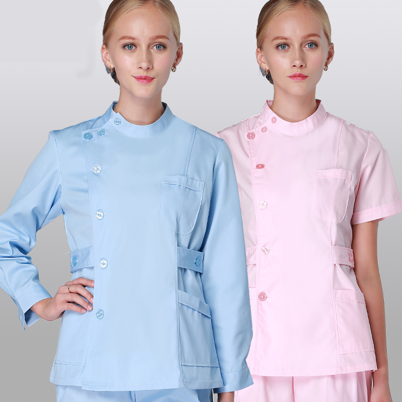 Healthcare, Lab & Dental Independent Medical Scrub Men Women Top Tunic Uniform Nurse Hospital Tops Medical Vest 2019 New Fashion Style Online