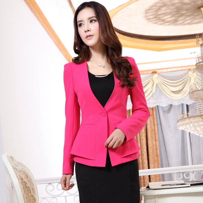 Formal Ladies Blazer Women Jackets Winter Fashion Professional ...