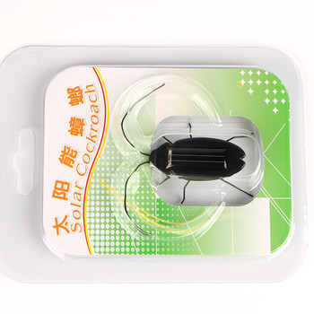 Novelty and Gag Toys Solar Power Cockroach Insect Bug Teaching Toy Gift Baby Kids Plastic Insect Solar Toy 6