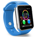 Bluetooth Smart Watch Часы Smartwatch спортивные часы Носимых Наручные Часы Для Android Телефон Поддержка Sim-карты Камеры PK GT08 DZ09