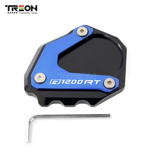 Image 3 - Support latéral pour béquille, Support latéral pour moto BMW R1200RT, R1200 RT, R 1200RT, 2004 2013, plaque de soutien