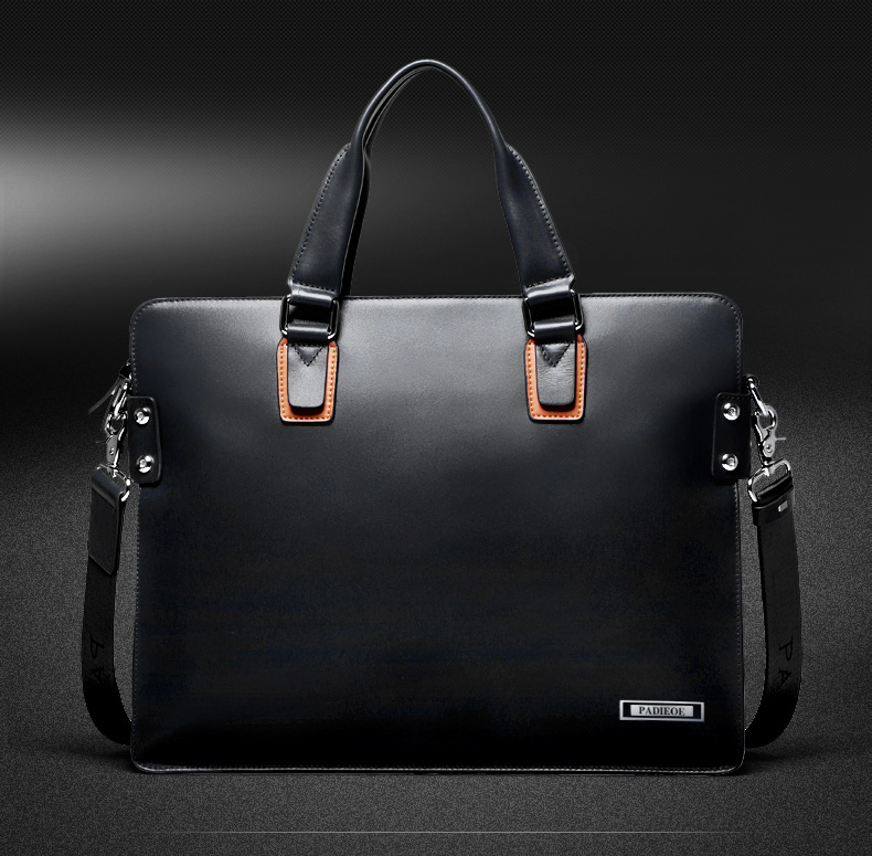 mens genuine leather briefcase bag (11)