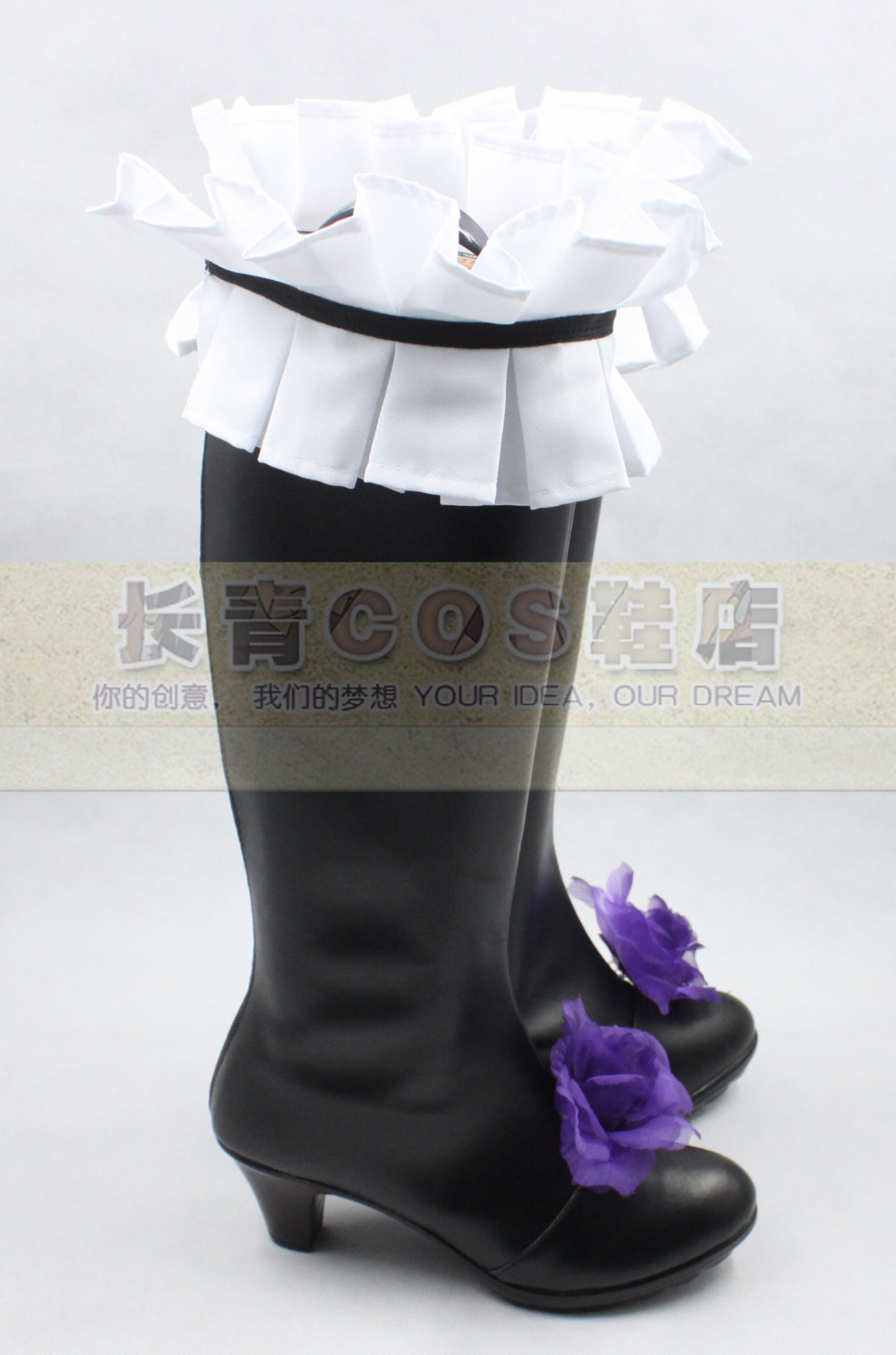 Rozen Maiden Suigintou shoes Cosplay Costume