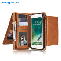 2017 Retro Folded Wallet Case For IPhone 7 6 6S Plus 5 5S SE 2 In