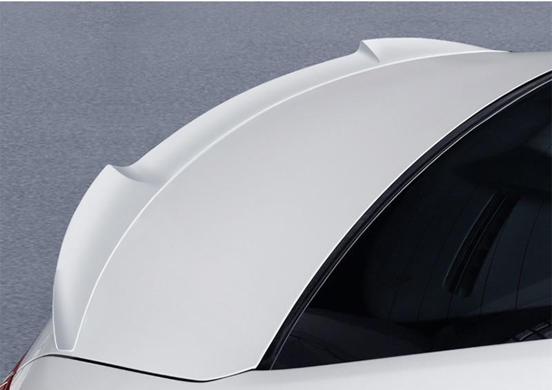 Voor Mazda 3 Axela 2014 2015 2016 2017 Auto Tail Wing Decoratie ABS Plastic Verf Schilderen Kleur Kofferbak Spoiler m4 stijl - 3