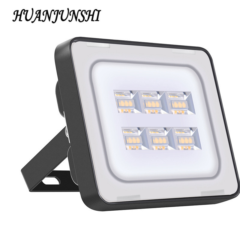 5 STKS LED Flood Light 20W Floodlight IP65 Vandtæt væglampe 220V 240V LED Spotlight Refletor LED Udendørsbelysning Havelampe