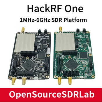 HackRF One SDR Software Defined Radio 1MHz to 6GHz Mainboard Development board kit - SALE ITEM - Category 🛒 Computer & Office