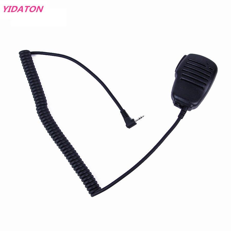 1PC Anti-wrestling 2.5mm 1 PIN Handheld Speaker Mic For Motorola Radio T6220/T6500/270 Cobra FRS 5512/6300 Black