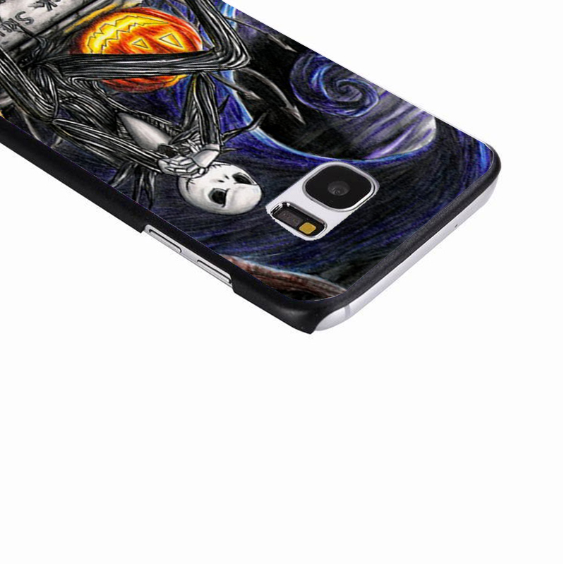 LvheCn phone case cover For Samsung Galaxy S3 S4 S5 mini S6 S7 S8 edge plus Note2 3 4 5 7 8 NIGHTMARE BEFORE XMAS COLLAGE
