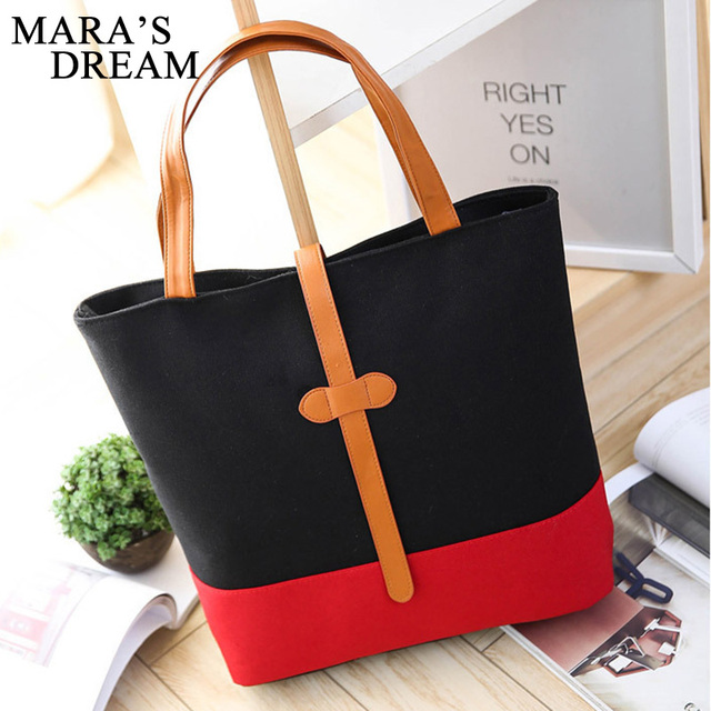 Handbags Women Bags Handbags High Quality Canvas Casual Tote Bags Shoulder Bags Women Top-handle Bag 2