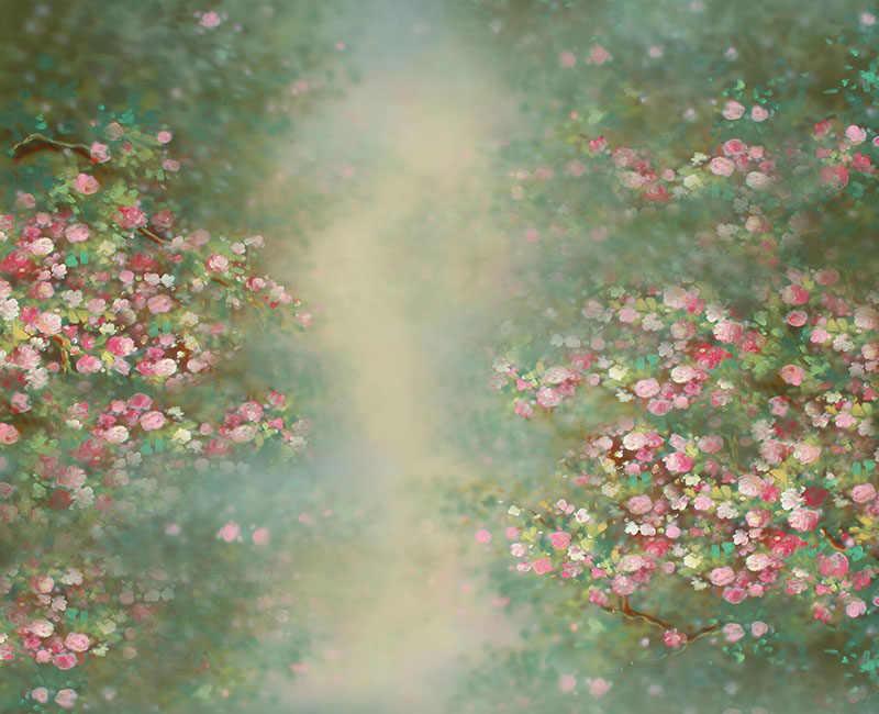 אמנות בד צילום תפאורות יילוד תינוק מקלחת קישוטי שיחת וידאו אבזרי רקע ויניל רקע צילום