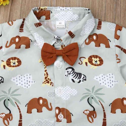 夏幼児キッズベビー少年紳士服フォーマルパーティートップシャツパンツ衣装セット男の子服