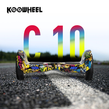 Koowheel 10 cal 2 Koła Inteligentny Hoverboards 4400 mAh Baterii Samsuang Własna Bilans Skuter Elektryczny