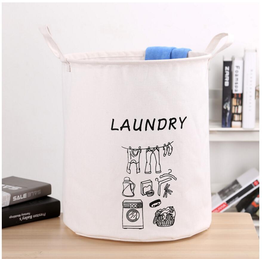 cc7e941b68b86 جديدة للماء سلة الغسيل صندوق تخزين ملابس سلال المنزل الملابس أكياس ...