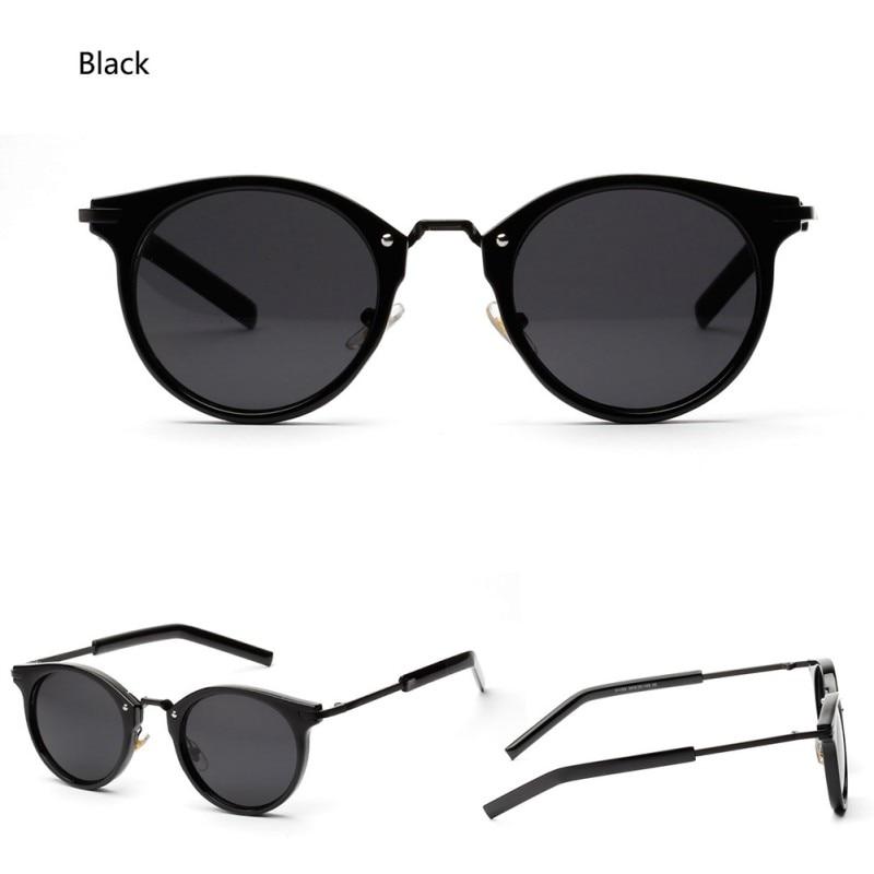 Vintage Women Steampunk Sunglasses Brand Design Round Sunglasses Oculos de sol UV400 Hot