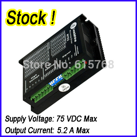 Leadshine M752 2 Phase Analog Stepper Drive Max 70 VDC 5.2A IN STOCK FREE SHIPPING free shipping 5pcs p4004ed p4004 in stock