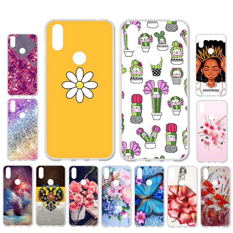 Ojeleye DIY Patterned Silicon Case For Doogee Y8 Case Soft TPU Cartoon Phone Cover For Doogee Y8C Covers Bags Anti-knock Shell image