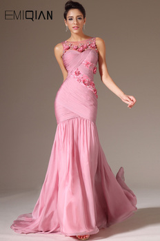Freeshipping Tank Floor Length Long Mermaid Evening Gowns Evening Dresses Fashion