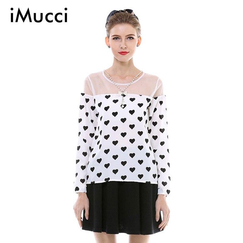 fcb4ef17d9 Mujeres S-3XL mosaico malla más tamaño la gasa de la camiseta mujer de manga  larga de impresión del o-cuello delgado señora Summer Casual Tops elegantes