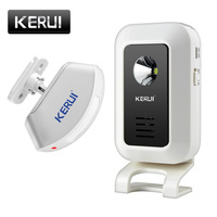 KERUI Welcome Device Shop Store Home Welcome Chime Wireless Infrared IR Motion Sensor Door Bell Alarm