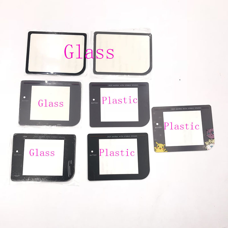 Screen Lens For Nintendo Game Boy Original  Glass & Plastic With Adhensive DMG-01 Lens Cover