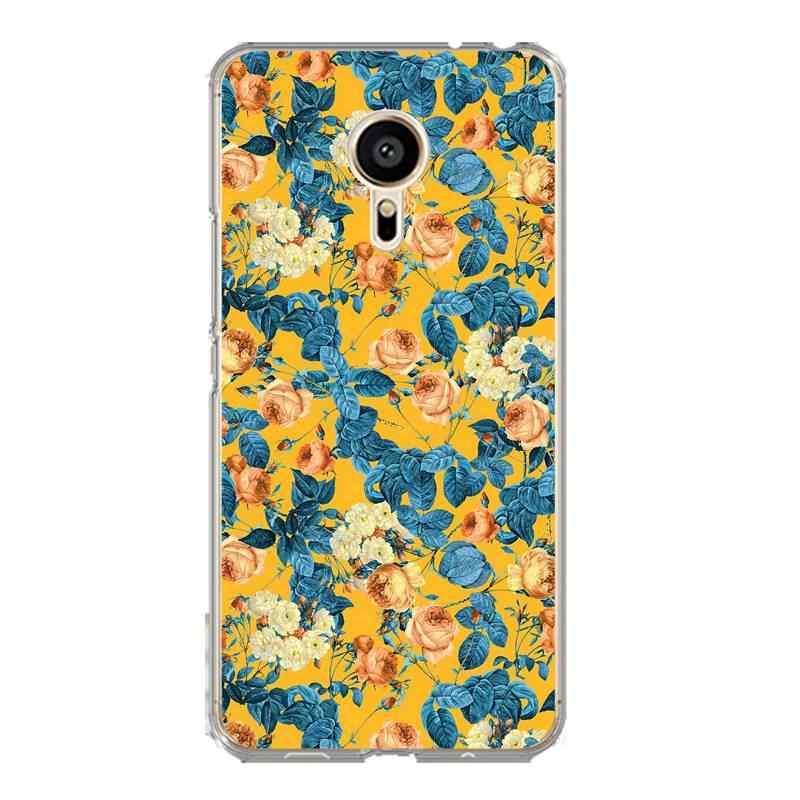 Flamingo suave claro caja del teléfono TPU para meilan MX6 pro6 U20 U10 A5 M5 M5S E E2 Flora Coque flor funda bonita envío gratis