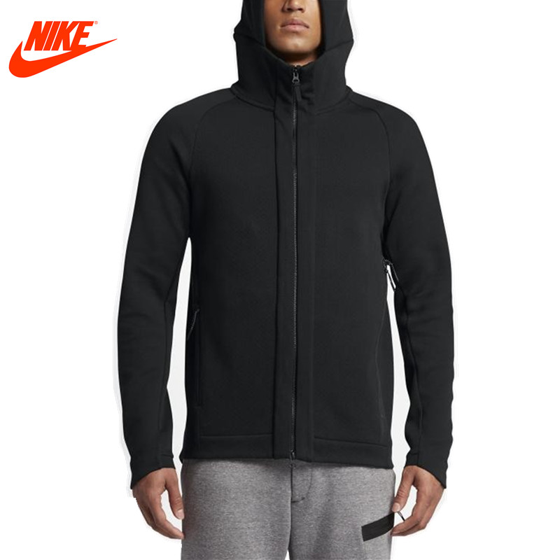 Nike men's jacket spring new Tech Fleece knit 832113-010