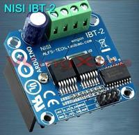 Livraison Gratuite! IBT-2 voiture intelligente motor drive module BTS7960 43A H-Pont PWM module capteur