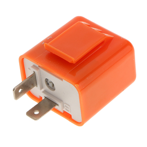 Image 5 - 1 Pcs 12V 2 Pin Adjustable Frequency LED Flasher Relay Turn Signal Blinker Indicator For Most Motorcycle Motorbike Accessories