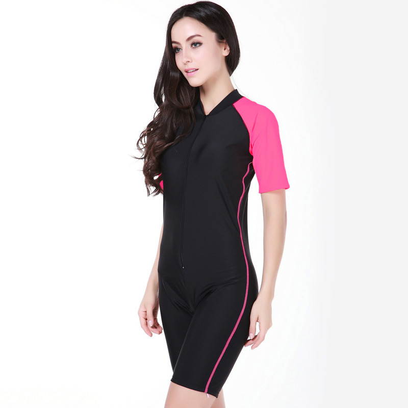 Sbart-Short-Sleeves-Men-Womens-Padded-Wetsuits-One-Pieces-Diving-Suits-Surfing-Rash-Guards-Swimming-Equipment (2)