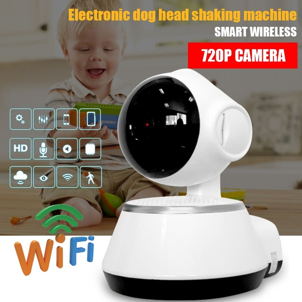Wifi Ip Camera 720p Wireless IP Camera Indoor Home Security Camera Surveillance Cameras Night Vision Wifi CCTV IP Cam CM V8 in Surveillance Cameras from Security Protection