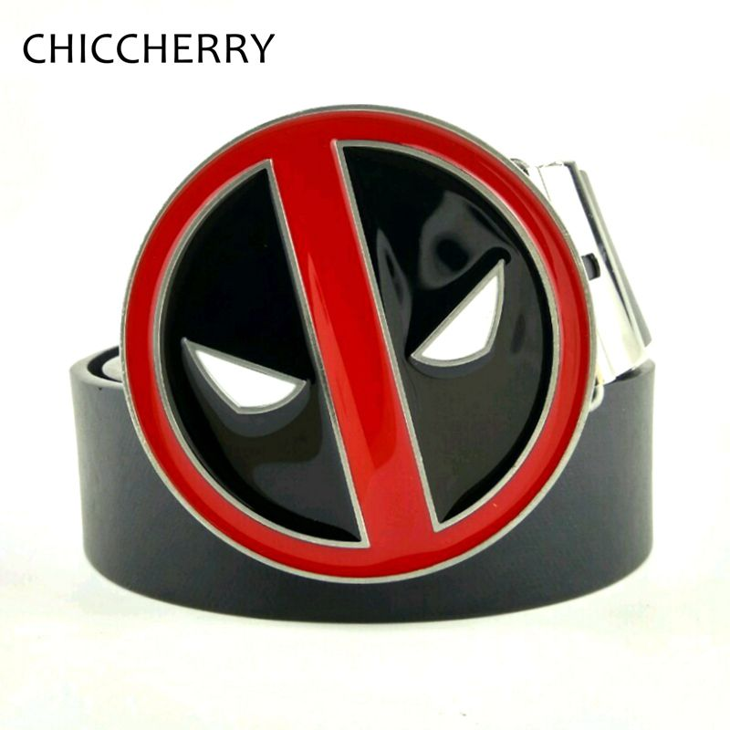 Cool Deadpool Belt Buckle Mens
