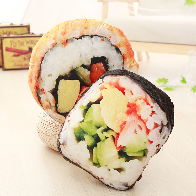 Sushi Plush Pillow 1