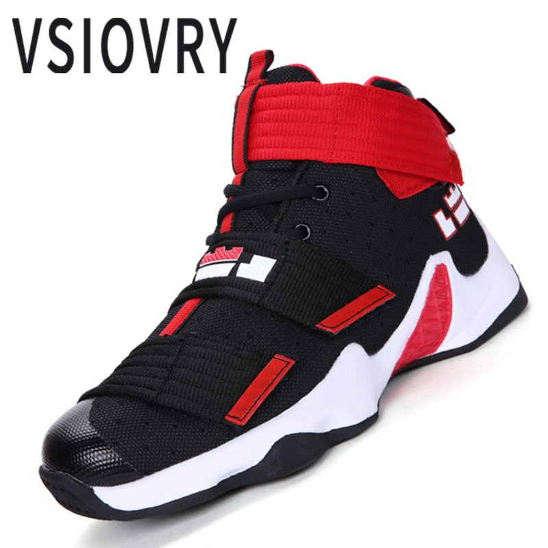 VSIOVRY New Men Basketball Shoes For Women Outdoor Trainers Sports Ankle Boots Comfortable Anti-Slip Basket Homme Femme SneakersVSIOVRY New Men Basketball Shoes For Women Outdoor Trainers Sports Ankle Boots Comfortable Anti-Slip Basket Homme Femme Sneakers