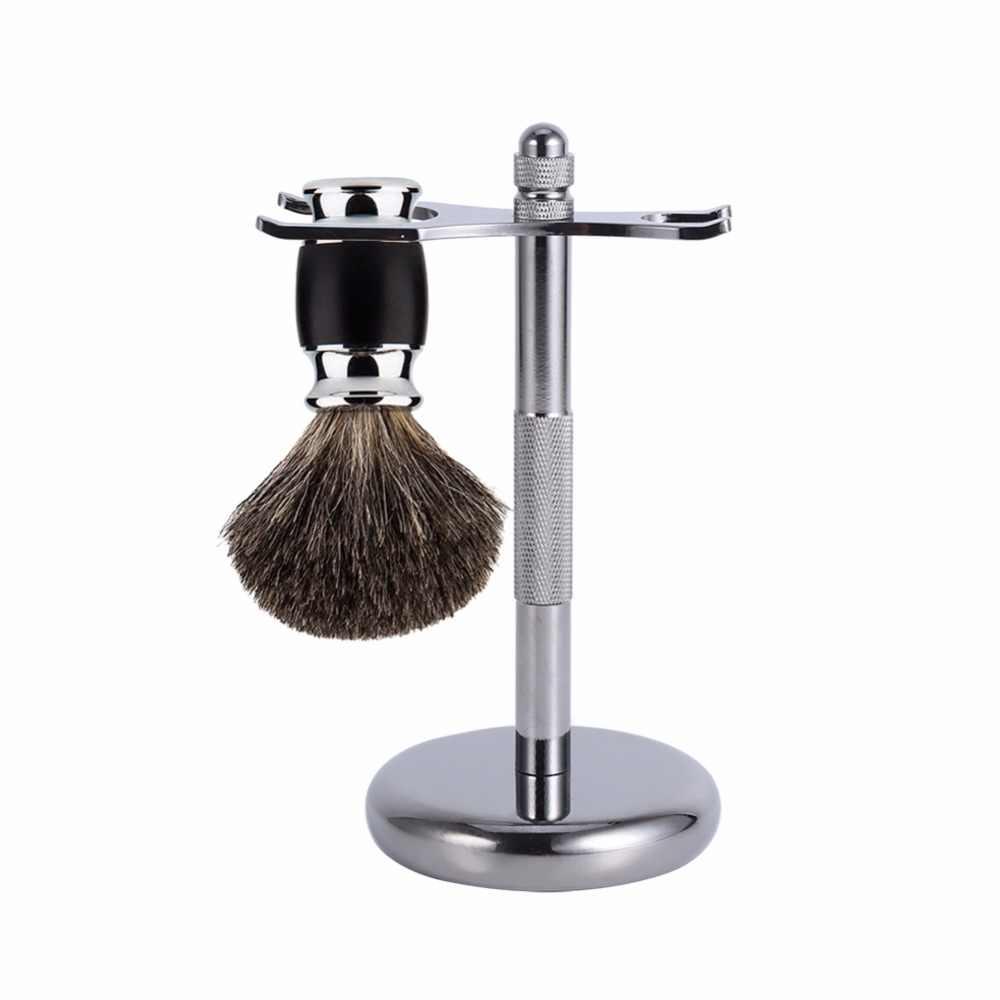 4 типа, модный сплав, бритвенный инструмент, безопасная подставка, рама, бритвенные щетки, держатель для бритья, подставка для мужчин, аксессуары для чистки бороды