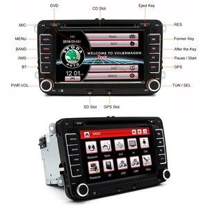 Image 5 - AWESAFE 2 Din 7 Inch Car DVD Player Car radio For Skoda/Octavia/Roomster/Fabia/Yeti/Seat/Altea/VW/Polo Car Radio GPS Autoradio