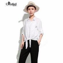 Blouses women's fashion novelties be Minimalist loose pure color imitation bokho Sleeved shirt Women blouses see 2017 WXTCWT0122