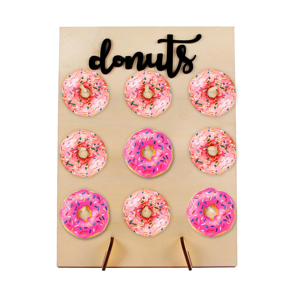 Donut Wall Wedding Decoration Mariage Wedding Gifts For