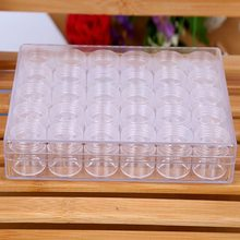 30/60/90/120 Slots Adjustable Transparent Diamond Painting Accessory Tools Jewelry Storage Box Case Cross Stitch Tools Organize(China)