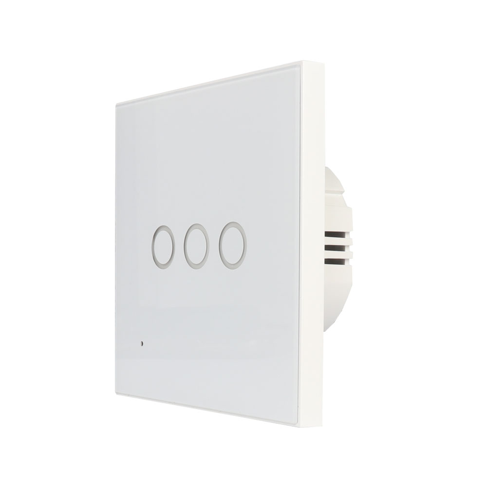 Security & Protection Neo Coolcam Eu 3gang Wall Wifi Light Switch Glass Panel Touch Led Lights Switch For Smart Home Wireless Remote Switch Control