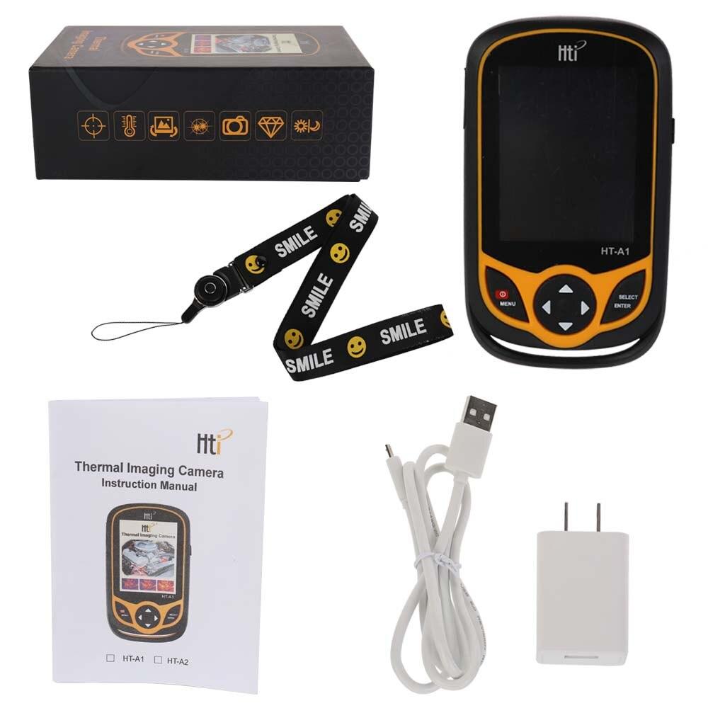 Multifonctionnel Portable Mobile Téléphone Type HD De Poche Infrarouge Imageur Thermique avec Câble USB et Adaptateur De Commutation