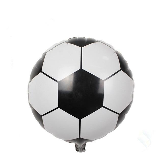 New 18inch Football Foil Balloon Soccer Ball Round Helium Balloons ...