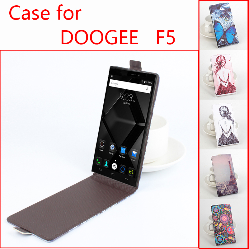official photos 0838b 119aa 5 Pattern Painted DOOGEE F5 Case,New Arrival High Quality Flip ...