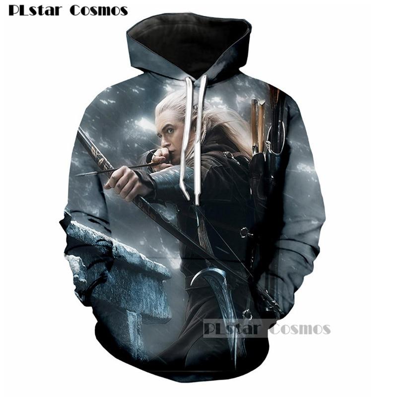 PLstar Cosmos The Lord of the Rings Elfing Prince Legolas 3D Print Wome Men Outerwear hoodie casual Pullovers Jacket Hoodies