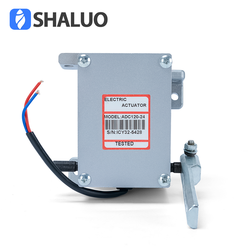 Actuator ADC120 12V Diesel generator part electric valve linear speed govornor actuator waterproof hydraulic brake controller