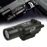500 Lumen Hohe Leistung Taktische X300 Pistole Gun Licht Waffe licht Lanterna Airsoft Taschenlampe Fit 20mm Picatinny Weaver Schiene