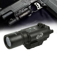 500 Lumens haute production tactique X300 pistolet pistolet lumière arme lanterne Airsoft lampe de poche ajustement 20mm Picatinny Weaver Rail