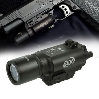 500 Lumens  Tactical X300 X300 Ultra Pistol Gun Light Weapon light Lanterna Airsoft Flashlight Fit 20mm Picatinny Weaver Rail obdstar x300 pad2 x300 dp plus c package full version 8inch tablet support ecu programming and toyota smart key