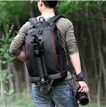 Lowepro Mini Trekker AW fotos DSLR Camera Bag Digital SLR mochila de viaje caja con el All Weather Cover para nikon canon